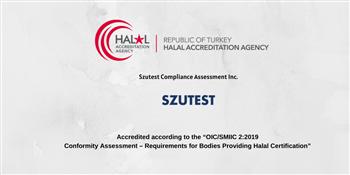 SZUTEST Accredited by HAK